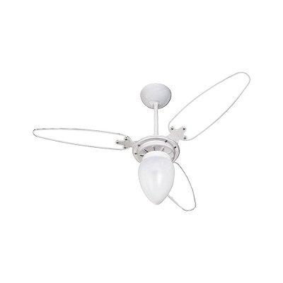 Ventilador de Teto Ventisol Wind Premium 3 Pás Transparente - 127V