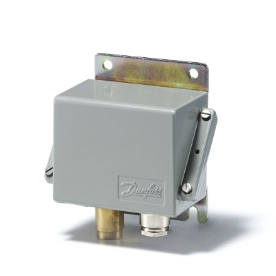 """Pressostato CAS136 060-315166 0 a 10 Bar 1/4"""" - Danfoss"""