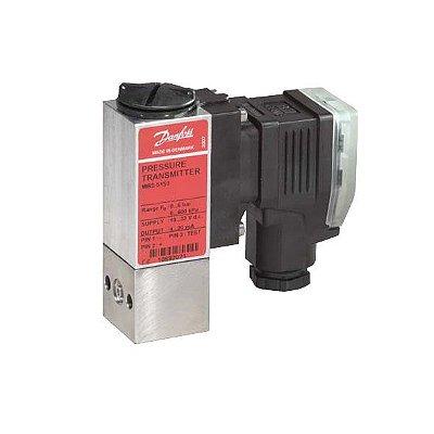 """Transmissor de Pressão MBS5150 060N1072 0 a 10 Bar 1/4"""" - Danfoss"""
