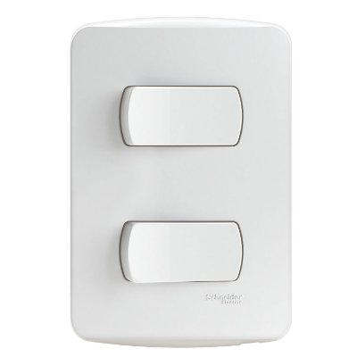 Conjunto 2 Interruptores Simples 10A 250V PL/BR - S3B62110 Schneider Electric