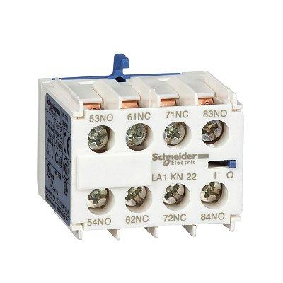 Bloco de Contato Auxiliar Instantâneo 2NA+2NF Contator Tesys K - LA1KN22 - Schneider Electric