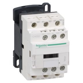 Contator Auxiliar Tesys D 5NA 24VCC - CAD50BD Schneider Electric