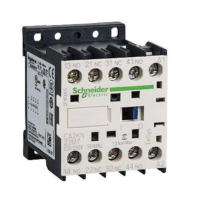 Contator Auxiliar Tesys K 2NA+2NF 220VCA - CA2KN22M7 Schneider Electric