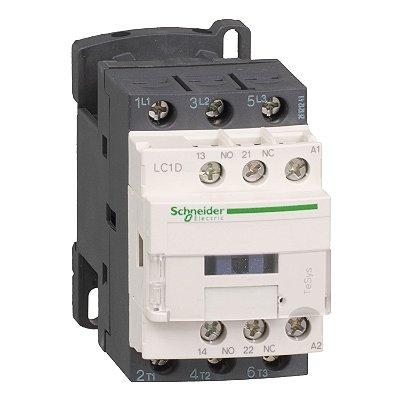 Contator Tripolar 12A 1NA+1NF 220VCA - LC1D12M7 Schneider Electric