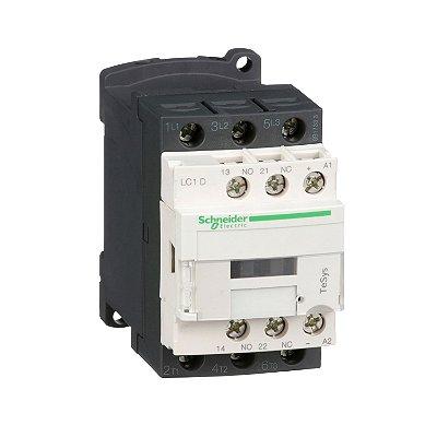 Contator Tripolar 18A 1NA+1NF 24VCC - LC1D18BD - Schneider Electric