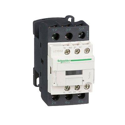 Contator Tripolar 32A 1NA+1NF 24VCC - LC1D32BD Schneider Electric