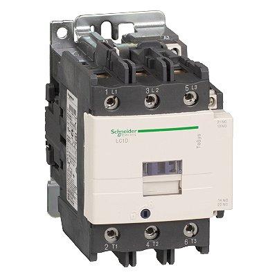 Contator Tripolar 80A 1NA+1NF 220VCA - LC1D80M7 Schneider Electric