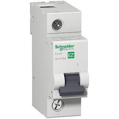 Disjuntor Easy9 1 Posição 100 A Curva C 4,5 KA 230/400 V - EZ9F33191 Schneider Electric