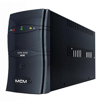 Nobreak 600VA MCM Ups600 One 3.1 115/127/220V - Trivolt