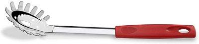 Pegador Massa Brinox Asti 29,5cm Tipo Concha Cabo Vermelho