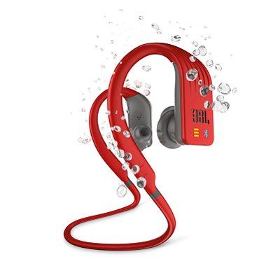 Fone de Ouvido Esportivo JBL Endurance Dive À Prova D'água Bluetooth - Vermelho