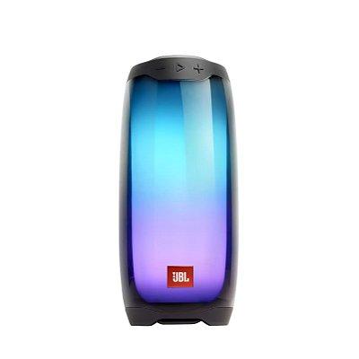 Caixa de Som Bluetooth JBL Pulse 4 À Prova D'água 20W RMS - Preto