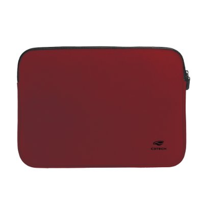 "Capa Sleeve para Notebook C3Tech 15.6"" Seattle SL-15 - Vermelha"
