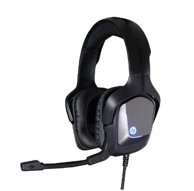 Headset Gamer HP com Microfone 7.1 Usb H220GS - Preto