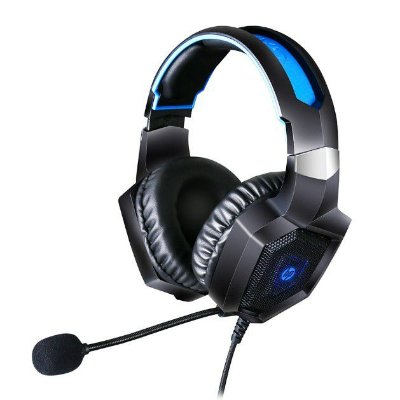 Headset Gamer HP com Microfone 7.1 Usb H320GS - Preto