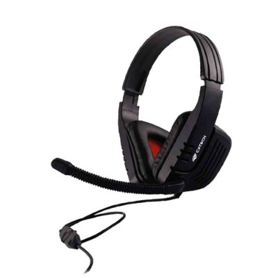 Headset Gamer C3Tech Predator com Microfone MI-2558RB - Preto