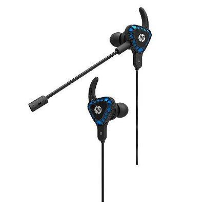 Headset Gamer Intra-Auricular HP P2 H150 - Preto