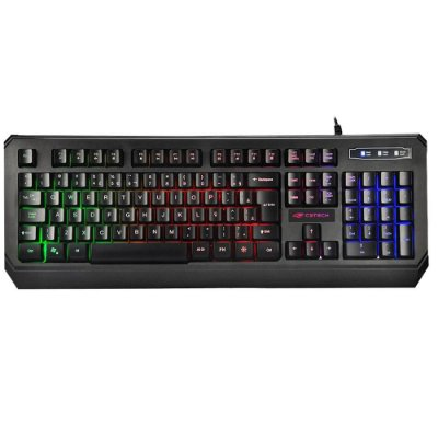 Teclado Gamer C3Tech KG-50BK Usb ABNT2 Led - Preto