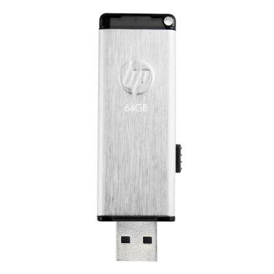 Pen Drive 64GB HP V257W Usb 2.0 - Prata