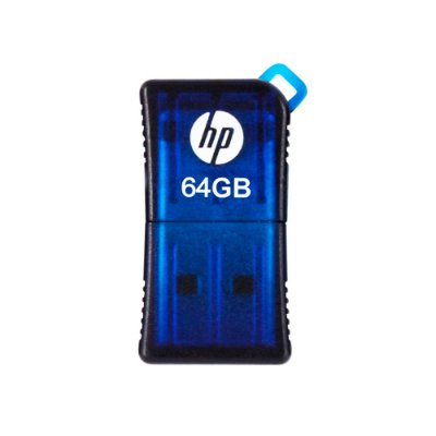 Mini Pen Drive 64GB HP V165W Usb 2.0 - Azul