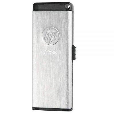 Pen Drive 32GB HP V257W Usb 2.0 - Prata