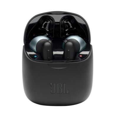 Fone de Ouvido JBL Tune 220TWS Bluetooth True Wireless Pure Bass Sound Preto