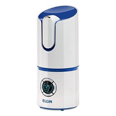Umidificador de Ar Digital Elgin com Timer e Sleep 2,5 Litros Branco e Azul - Bivolt