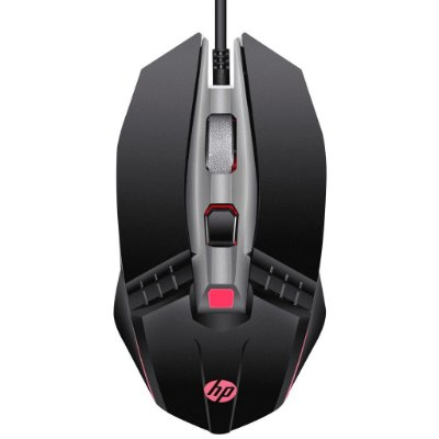 Mouse Gamer HP M270 Usb 2400Dpi - Preto
