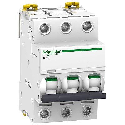 Disjuntor Acti9 IC60N 3P C 32A 440V - A9F74332BR - Schneider Electric