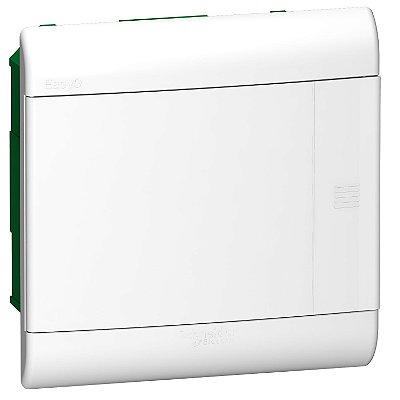 Quadro De Distribuição Easy9 1 Fila 8 Modulos Embutir Porta Opaca - EZ9E3308 - Schneider Electric