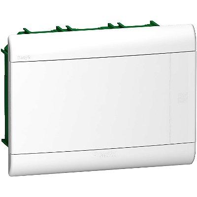 Quadro De Distribuição Easy9 1 Fila 12Modulos Embutir Porta Opaca - EZ9E3312 - Schneider Electric