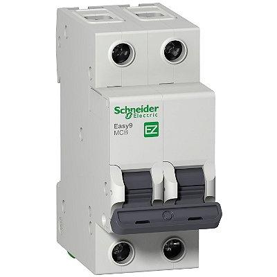 Disjuntor Easy9 2P 16A C 6000A 230V - EZ9F56216BR - Schneider Electric