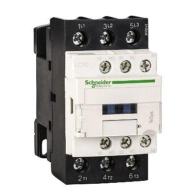 Contator Tripolar 32A 1NA+1NF 110VCA - LC1D32F7 Schneider Electric
