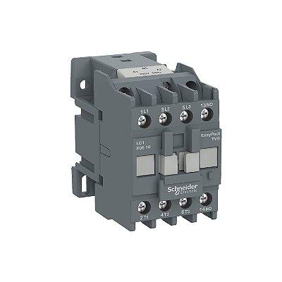Contator Tripolar Tesys E 18A 1NA 110VCA-50/60Hz - LC1E1810F7 - Schneider Electric