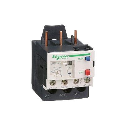 Rele Termico Tesys D Classe 10 16-24A 1NA+1NF - LRD22 - Schneider Electric