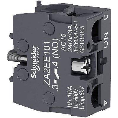 Bloco De Contato XA2E 1 NA - ZA2EE10 - Schneider Electric