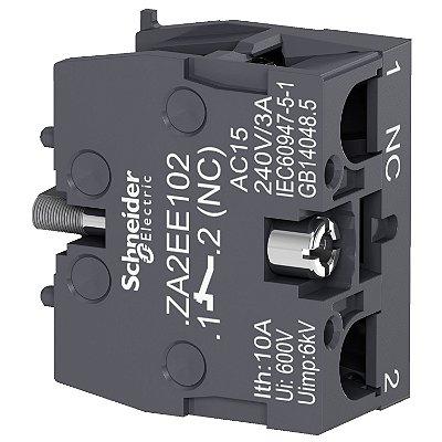 Bloco de Contato XA2E 1NF - ZA2EE102 - Schneider Electric