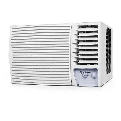 Ar Condicionado Janela Springer Midea Mecânico Só Frio 27000 BTUs ZCI305BB - 220V