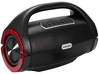 Caixa de Som Bluetooth Mondial Monster Sound SK-06 150W Preta - Bivolt