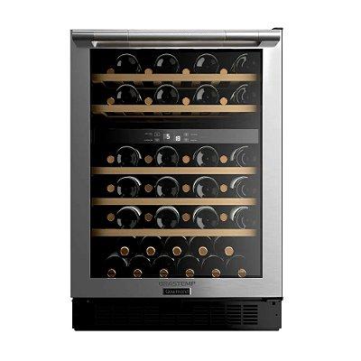 Adega de Vinhos Brastemp Gourmand Dual Zone 51 Garrafas Inox BZB51AE - 127V