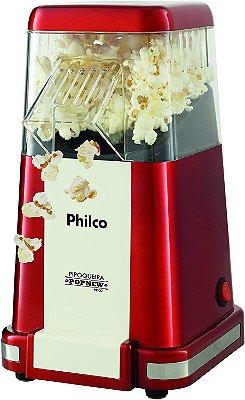 Pipoqueira Elétrica Philco Vintage Pop New PPI02 Vermelho - 127V