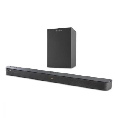 Soundbar Philco Bluetooth PSB04T Preto Bivolt