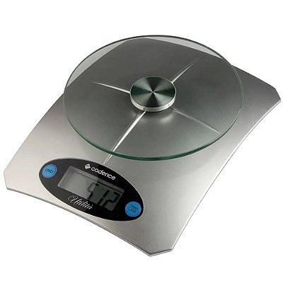 Balança de Alta Precisão Cadence Utilità para Cozinha Bateria