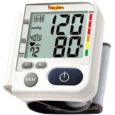 Aparelho de Pressão Digital Automático de Pulso G-Tech LP200 Premium - Branco