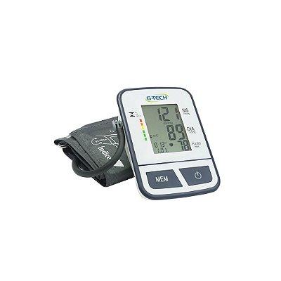 Aparelho de Pressão Digital Automático de Braço G-Tech Bpsp11 - Branco e Preto