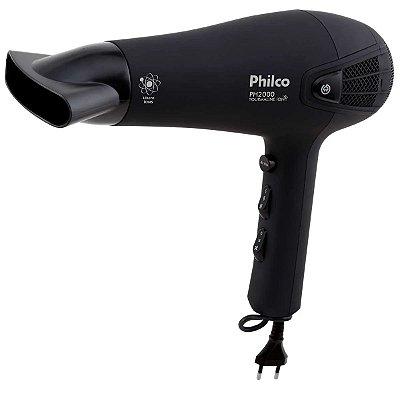 Secador de Cabelo Philco 1900W PH2000 Preto - 127V