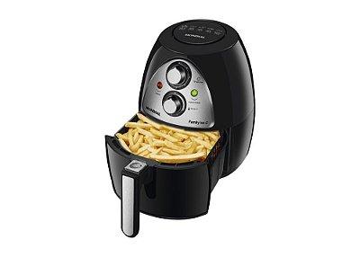 Fritadeira Sem Óleo Air Fryer Mondial Family 4,0 Litros NAF-03i Preto e Inox - 127V