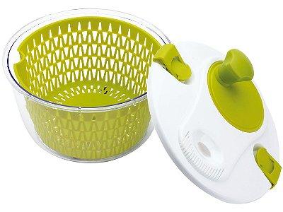 Secador Centrífuga para Folhas e Salada Hercules 1,8 Litros UTP30 - Verde e Branco