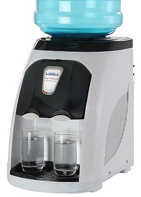 Bebedouro de Água Libell Stilo Hermético com Compressor Branco e Fume - 220V