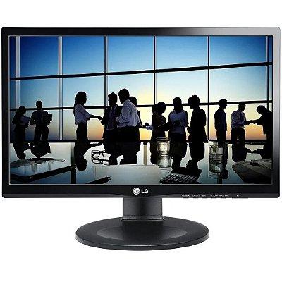 """Monitor LG 21,5"""" Led 22MP55PJ Full HD HDMI IPS Ajuste de Altura e Rotação de Tela"""